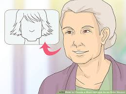 womens short hairstyles to hide hearing aids 3 ways to choose a short hairstyle as an older woman wikihow
