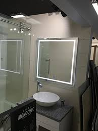 Defog Bathroom Mirror by Aquadom Mirror For Bathroom With Dimable Led Light Integrated