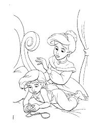 ariel coloring sheet kids coloring