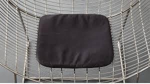Bankers Chair Cushion Black Leather Chair Cushion Cb2
