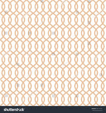 Apricot Color Seamless Trellis Pattern Apricot Color Trellis Stock Vector