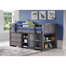 Captain Bed With Storage Bedroom Bunk Bed With Storage Bunk Beds With Drawers Donco Kids