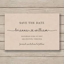 rustic save the date save the date printable template editable by you in word diy