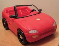 barbie convertible transportation