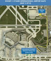 Chicago O Hare Airport Map by Uber Map For Ride Share Pick Ups Ord Yelp