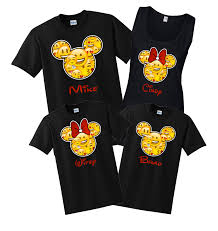 disney family emoji custom t shirts black the official