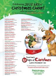 Thanksgiving Parade Tv Schedule 2016 Christmas Movies And Tv Show Schedule An Awesome Guide