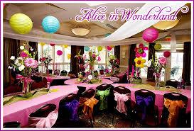 Alice In Wonderland Decoration Ideas Alice In Wonderland Birthday Party Pizzazzerie