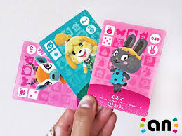 hands on with animal crossing happy home designer amiibo cards