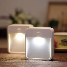 Motion Activated Night Light Arilux Al101n Battery Powered Wireless Pir Motion Sensor Led Night