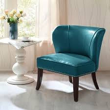 Leather Accent Chair Upholstered Accent Chairs Leather Accent Lounge Chair With Armless