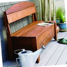 Wood Deck Storage Bench Plans by Beautiful Outdoor Storage Bench Plans Woodwork City Free