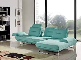 Contempo Leather Sofa by 2 Piece Contempo Adjustable Backrest Seafoam Fabric Sectional Sofa
