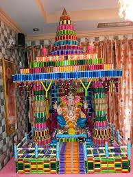 Indian Engagement Decoration Ideas Home 135 Best Ganpati Decorations Images On Pinterest Ganesha
