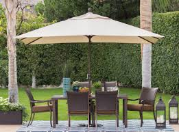 Patio Tables Home Depot Patio U0026 Pergola Umbrella Patio Set Patio Furniture Home Depot