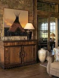 cowboy decoration ideas entry southwestern with hardwood flooring