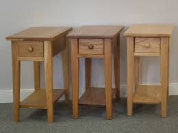 Chair Side Table Shaker Furniture Of Maine Cherry Chairside Table With Drawer