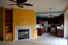 Living Room Kitchen Color Schemes Living Room Paint Color Mustard Carameloffers