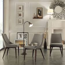 Light Dining Chairs Buy Classic Design Grey Upholstered Dining Chairs For Your Sitting