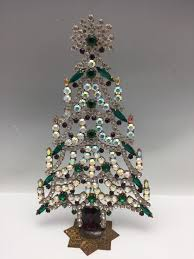 czech rhinestone christmas mantle tree 702 145 00 cydneys