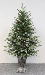 outdoor frosted full1 pre lit tabletop trees 3ft