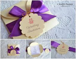 Wedding Invitation Folded Card Royal Theme Petal Fold Handmade Wedding Invitation Card