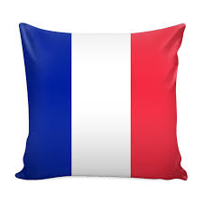 Image French Flag French Flag Decorative Pillow Case U2013 Nation Love