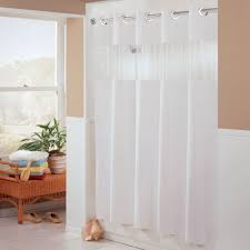 Hotel Shower Curtains Hookless Hookless Hbh41bub01w White The Major Shower Curtain With Matching