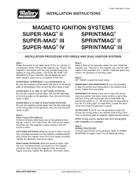 mallory ignition wiring diagram magneto wiring diagram simonand
