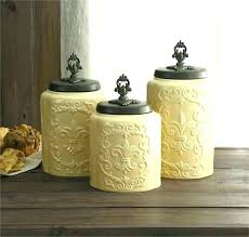 buy kitchen canisters glass kitchen canister set cuca me
