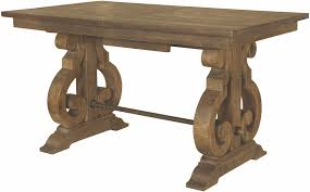 Counter Height Extendable Dining Table Willoughby Weathered Barley Counter Height Extendable Dining Table