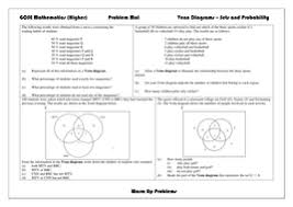 gcse 9 1 venn diagrams by aliali teaching resources tes