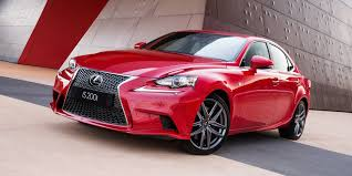 red lexus 2015 2016 lexus is pricing and specifications photos 1 of 15