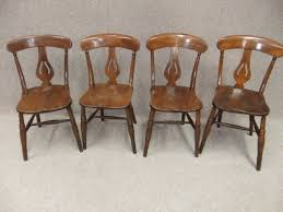 victorian kitchen chairs set of 4 elm beech chair sets stylish
