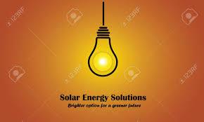 Solar Energy Lighting - evening sun sunset solar energy light bulb idea solution concept