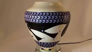 tribal vase from ceramic tattoo art youtube