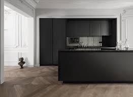 siematic pure s2 a realm of contrasts is created by the owners