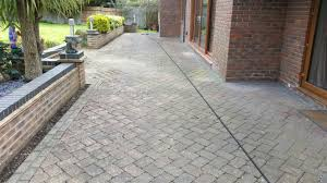 Patio Scrubber Hire Most Powerful Pressure Washer Cleaning A Patio In Billericay