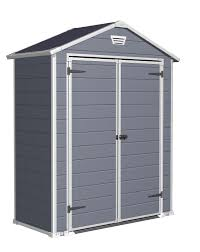Rubbermaid Roughneck Gable Storage Shed Accessories by Backyard Sheds Menards Simple Outdoor With Great Garage Kits