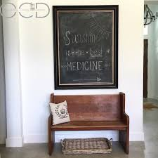 church pew home decor wood bench organize clean decorate