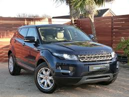 tan land rover used buckingham blue land rover range rover evoque for sale dorset