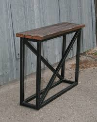 modern wood end table combine 9 industrial furniture u2013 industrial console table