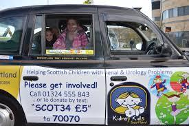 kidney kids taxi in hospital visit