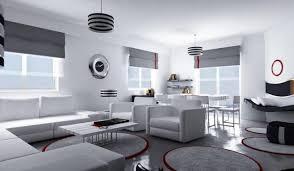 wohnzimmer einrichten ideen in weiß schwarz und grau - Wohnzimmer Einrichten Wei Grau