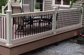 vinyl railings vinyl deck stair railing systems from vinyl
