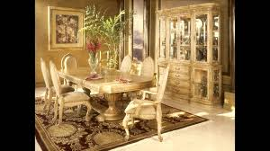 Aico Furniture Outlet Furniture Charming Cream Dining Table Set By Aico Furniture On