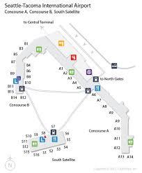san jose airport gate map sea seattle tacoma international airport terminal map airports