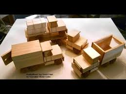 Free Wood Toy Train Plans by Wood Toy Plans Table Saw Four Easy To Make Trucks Youtube