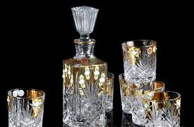 barware sets crystal wine decanter set images