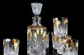 barware sets crystal wine decanter set images